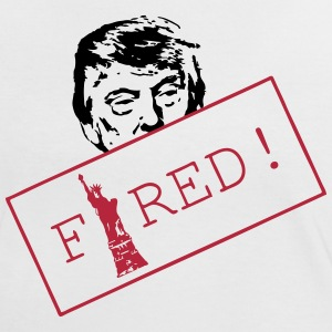 Trump is FIRED - Frauen Kontrast-T-Shirt