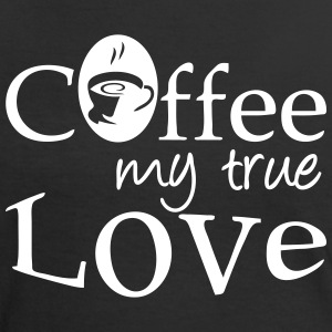 Coffee - my true Love - Frauen Kontrast-T-Shirt