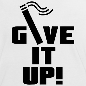 Give it up (Smoking / Rauchen)  - Frauen Kontrast-T-Shirt