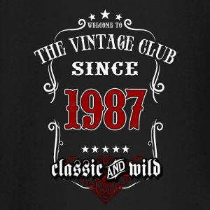 Vintage club since 1987 classic and wild - Birthday gift present RAHMENLOS Baby Langarmshirts - Baby Langarmshirt