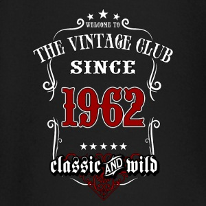Vintage club since 1962 classic and wild - Birthday gift present RAHMENLOS Baby Langarmshirts - Baby Langarmshirt