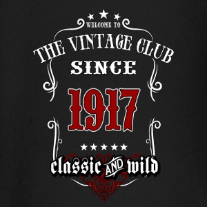 Vintage club since 1917 classic and wild - Birthday gift present RAHMENLOS Baby Langarmshirts - Baby Langarmshirt