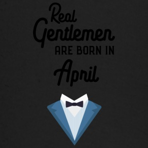 Real Gentlemen are born in April Sj55g Baby Long Sleeve Shirts - Baby Long Sleeve T-Shirt