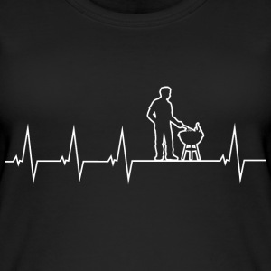 Barbecue - Grillmeister - Heartbeat Topper - Øko-singlet for kvinner