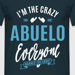 Crazy Abuelo - Men's T-Shirt