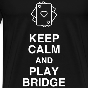 Bridge Card game Kartenspiel Jeu de cartes T-Shirts - Men's Premium T-Shirt