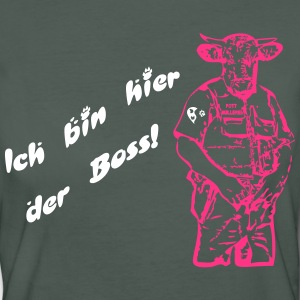 Boss T-Shirts - Frauen Bio-T-Shirt