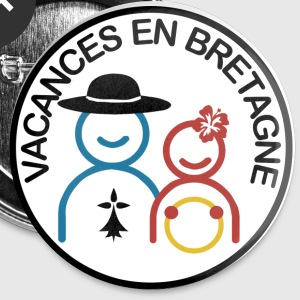Vacances en Bretagne Badges - Badge grand 56 mm