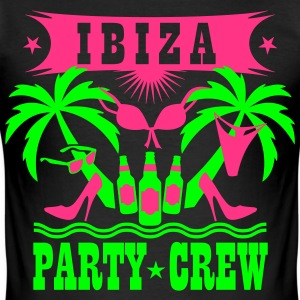 14 Ibiza Party Crew Hangover Sex lustig Spaß T-Sh - Männer Slim Fit T-Shirt