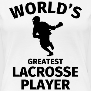 World's Greatest Lacrosse Player T-Shirts - Frauen Premium T-Shirt