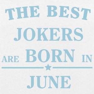 The Best Jokers Are born in JUNE T-shirts - Dame oversize T-shirt