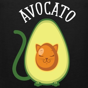 Avocato | Cute Avocado Cat Illustration Vêtements de sport - Débardeur Premium Homme