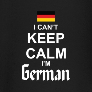 I Can't Keep Calm I'm German baby shirts met lange mouwen - T-shirt
