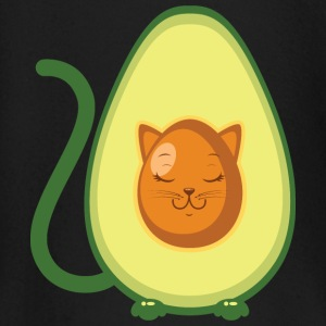 Cute Avocado Cat Illustration Baby Long Sleeve Shirts - Baby Long Sleeve T-Shirt