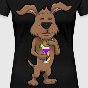 Mr Waffles the Dog - Women's Premium T-Shirt