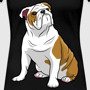 English Bulldog Dog - Women's Premium T-Shirt