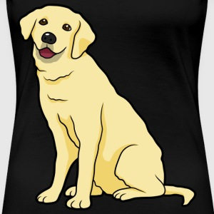 Golden Labrador Dog - Women's Premium T-Shirt