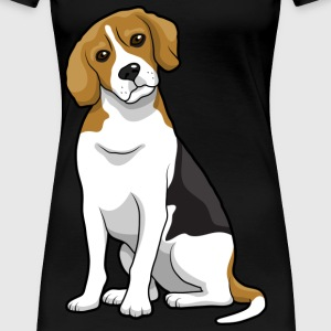 Beagle Dog - Women's Premium T-Shirt