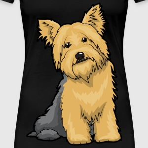 Yorkshire Terrier Dog - Women's Premium T-Shirt