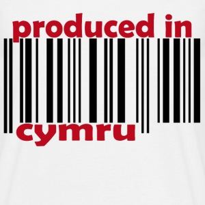 Produced in Wales - Men's T-Shirt