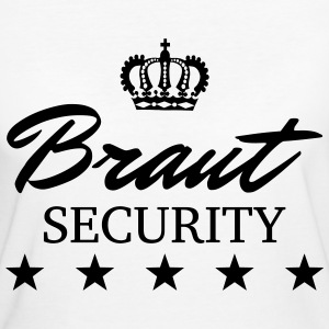 Braut Security! JGA Motiv T-Shirts - Frauen Bio-T-Shirt