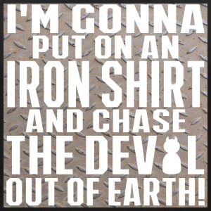 Chase the devil outside of the room T-Shirts - Women's V-Neck T-Shirt