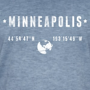 Minneapolis T-shirts - Herre vintage T-shirt