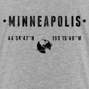 Minneapolis T-shirts - Børne premium T-shirt