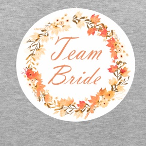 team_bride_wreath_flower_power_orange T-shirts - Vrouwen oversize T-shirt