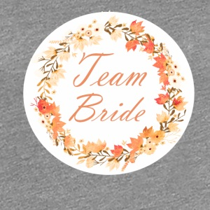 team_bride_wreath_flower_power_orange T-Shirts - Women's Premium T-Shirt