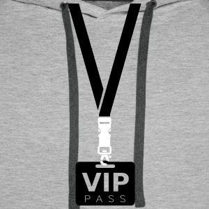 VIP PASS CARD Hoodies & Sweatshirts - Men's Premium Hoodie