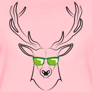 cool deer - Frauen Premium T-Shirt