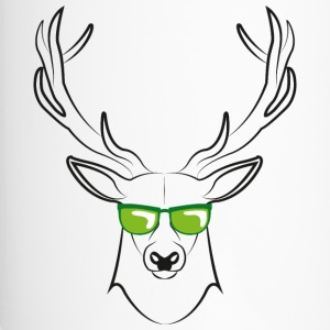 cool deer - Thermobecher