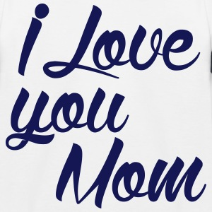 I love you Mom 2 Tee shirts - T-shirt baseball Enfant