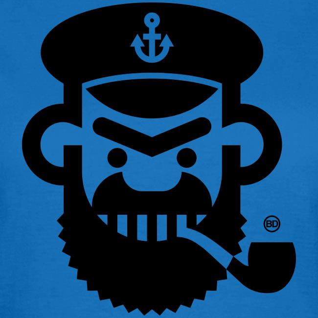 BD Captain Girls Tshirt