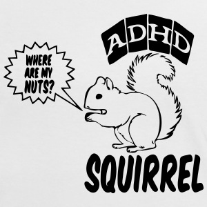 ADHD Squirrel - Frauen Kontrast-T-Shirt