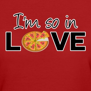 Pizza Love - Frauen Bio-T-Shirt