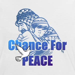 Chance For Peace - Women's Ringer T-Shirt
