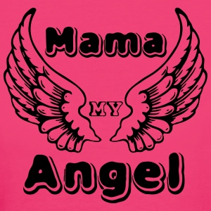 Mama Angel - Frauen Bio-T-Shirt