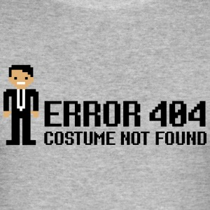 Error 404  - Costume not found T-skjorter - Slim Fit T-skjorte for menn