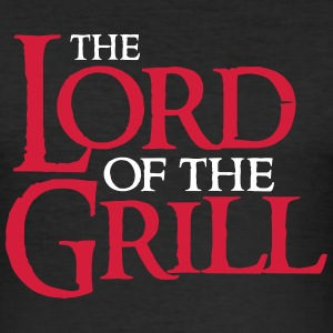 The Lord of the Grill Magliette - Maglietta aderente da uomo