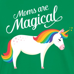 Moms Are Magical | Unicorn T-Shirts - Männer Premium T-Shirt