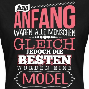 MODEL - Die Beste - Frauen T-Shirt