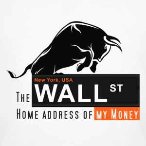Home of my Money - Wall Street T-Shirts - Männer Bio-T-Shirt