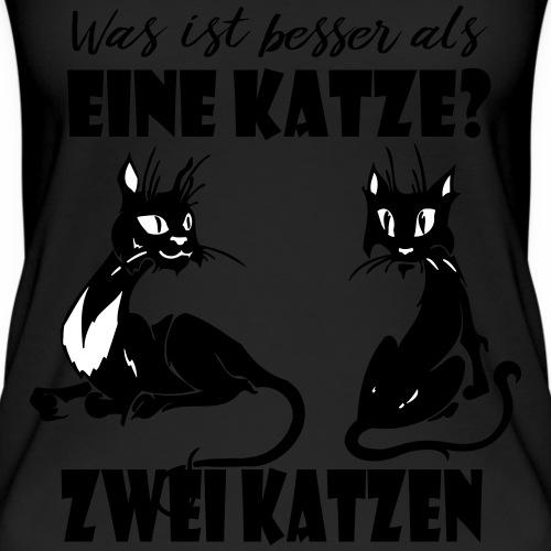 Zwei Katzen sind besser