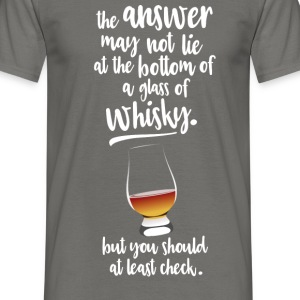Whisky - Mannen T-shirt