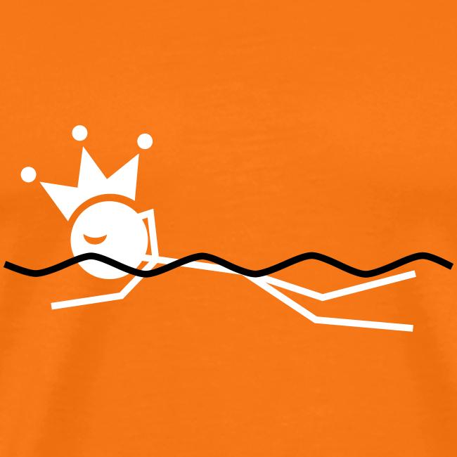 Zwemkoning premium T-shirt