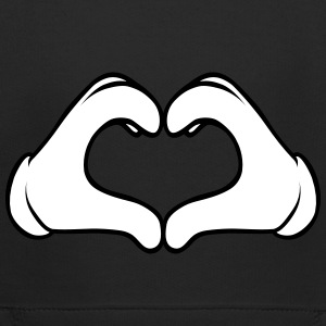 Comic Heart Hand | Great Gift For People You Love Hoodies - Kids' Premium Hoodie
