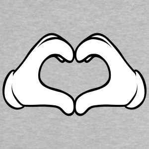 Comic Heart Hand | Great Gift For People You Love Baby Shirts  - Baby T-Shirt