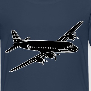 Flugzeug Rosinenbomber 2 - Teenager Premium T-Shirt
